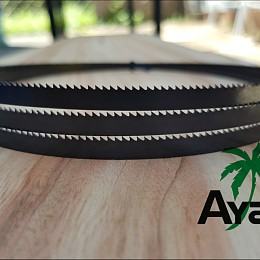Image of AYAO Bandsaw Blade 1505mm X 6.35mm X 6TPI Premium Quality- FREE Postage