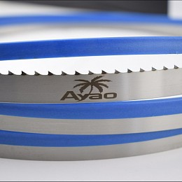 Image of AYAO Hardened Teeth Band Saw Bandsaw Blade 3114mm X 25mm X 3TPI