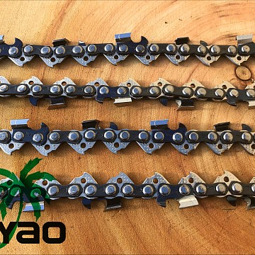 "Image of Chainsaw Chains AYAO FULL CHISEL CHAIN 10""  3/8LP, 050, 40DL For Makita UC2500DWB DC231T BUC250 SX25 25cc Arborist Saws"