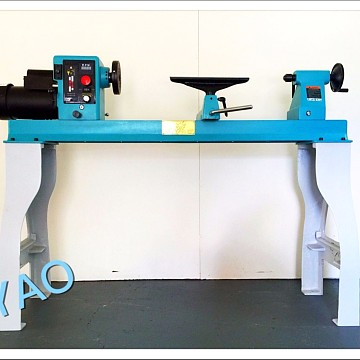 Image of Machinery And Accessories Ayao Heavy Duty Wood Lathe Headstock Rotation 1500W Brand New Warranty