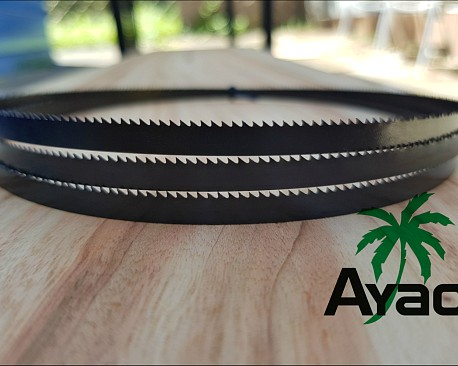 Picture of a AYAO Bandsaw Blade 1505mm X 6.35mm X 6TPI Premium Quality- FREE Postage