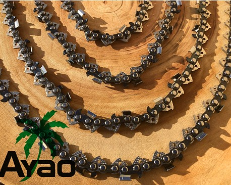 """Picture of a AYAO Full Chisel CHAIN 14"""" STIHL 50DL 3/8 LP.043 MICRO-LITE MS170 MS180 MS190T"""