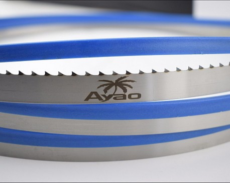 Picture of a AYAO Hardened Teeth Band Saw Bandsaw Blade 4700mm X 25mm X 3TPI